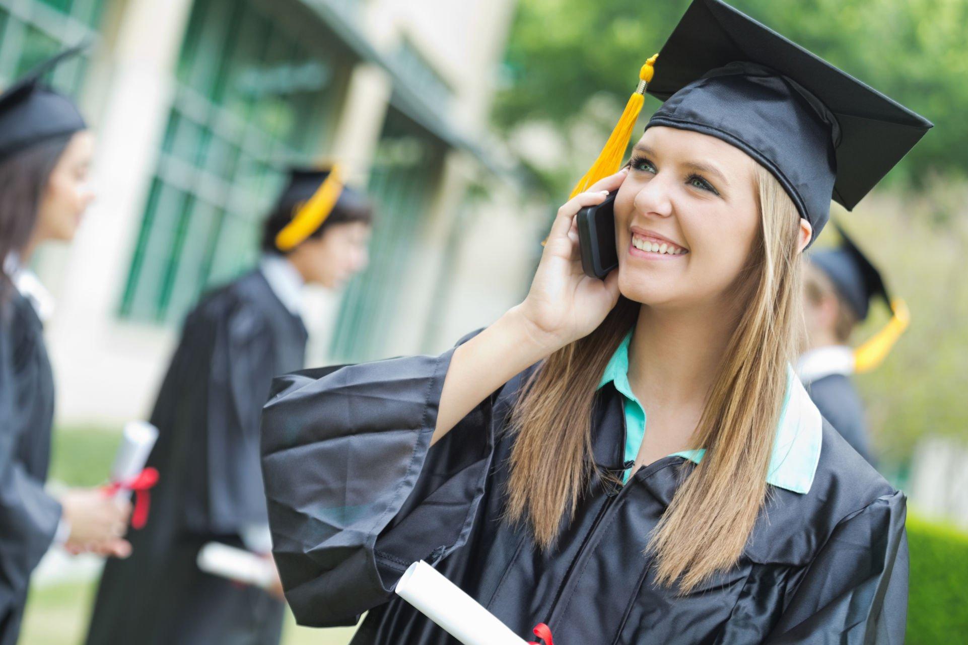 the-smart-choice-for-ucaas-blog-grad-on-phone