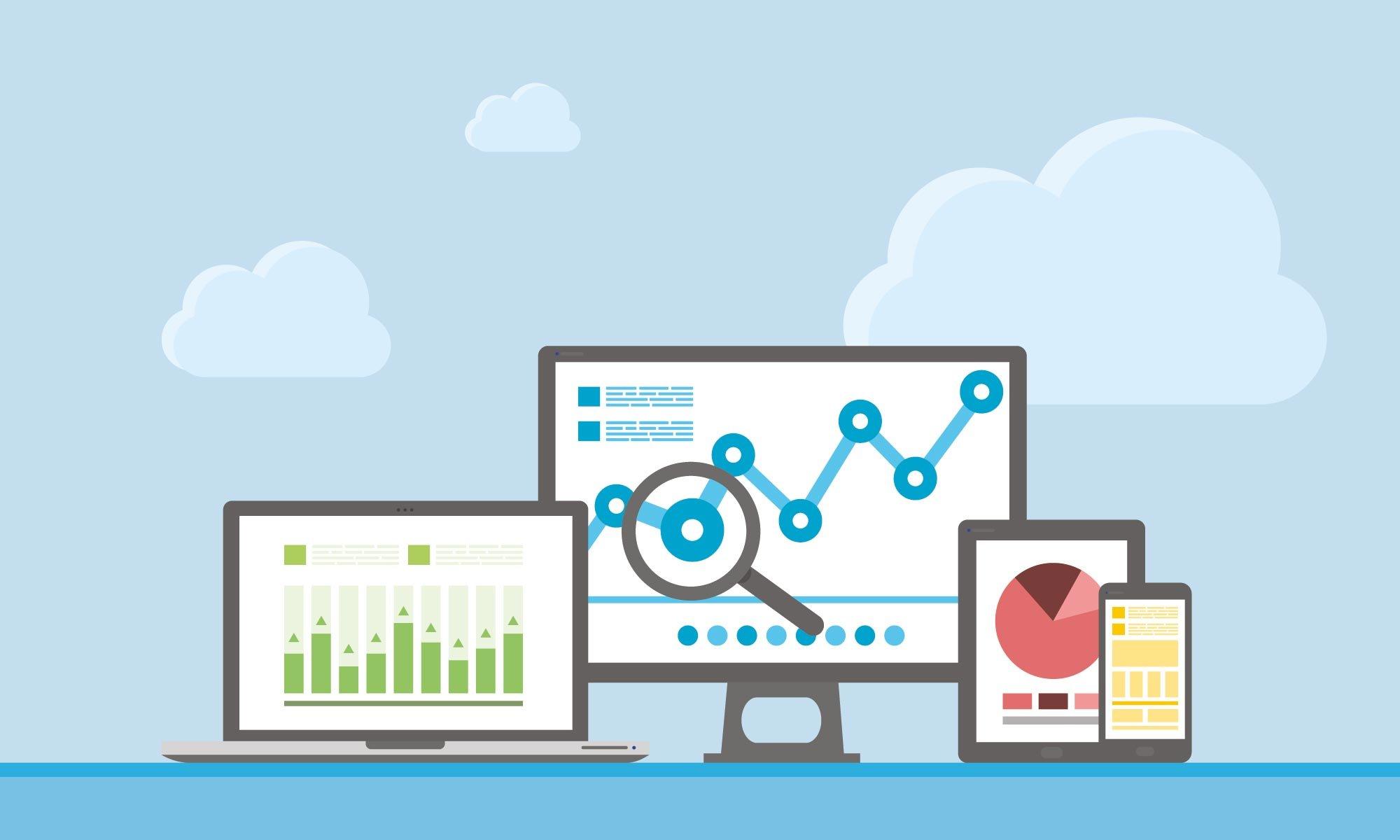 analytics-statistics-cloud-laptop-monitor-tablet-smartphone