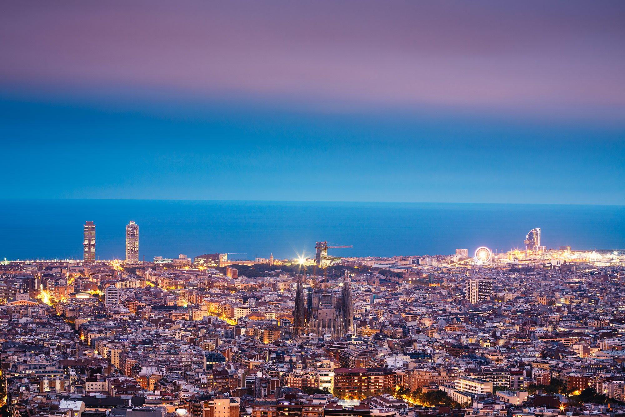 barcelona-city-skyline-night-sea-coast