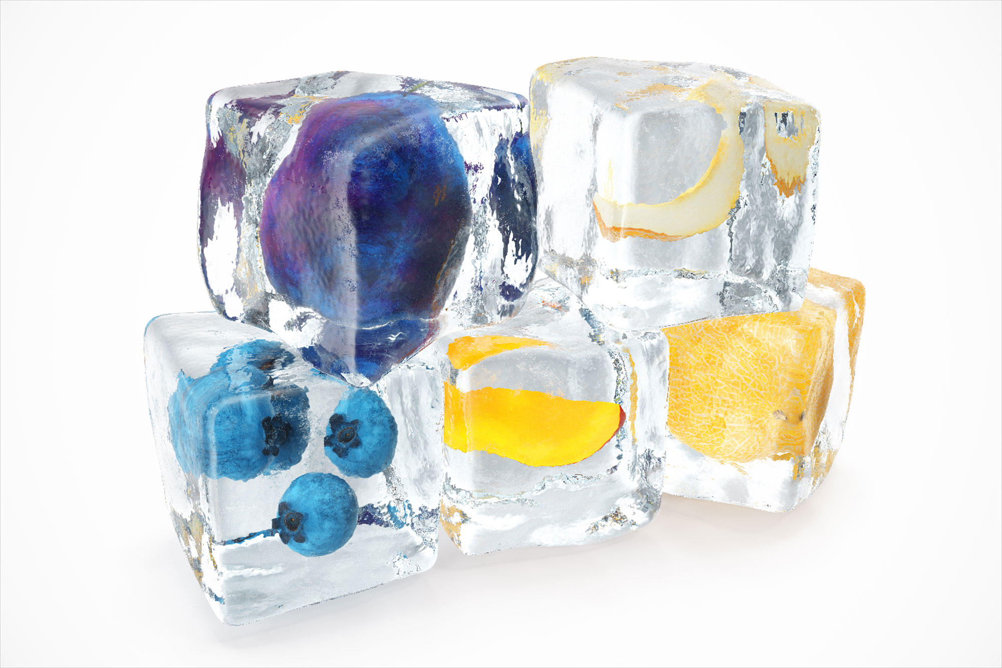ice-cubes-fruit-stacked
