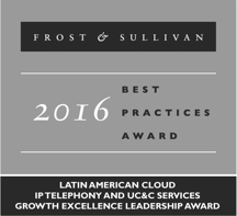 Frost & Sullivan Best Practices Award