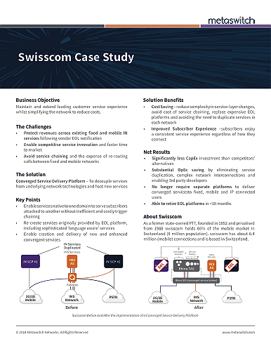 Swisscom case study